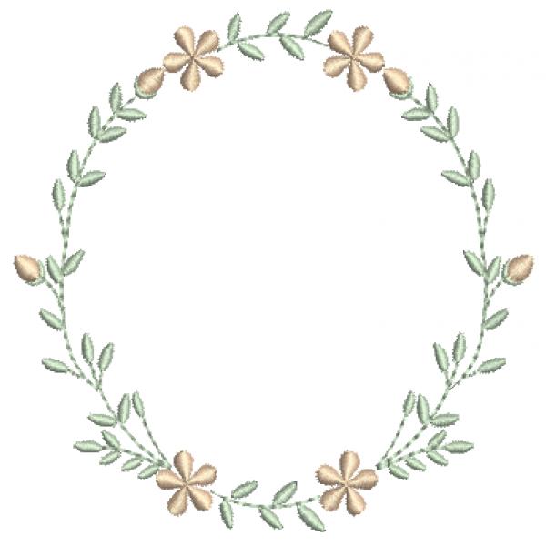Florzinhas Guirlanda - Pontos Leves