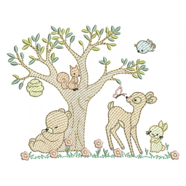 Animais na Floresta - Pontos Leves