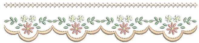 Barrinha de Florzinha e Margaridas