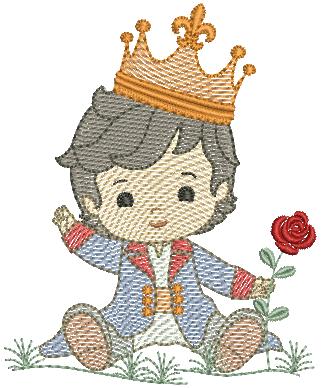 Principe Sentadinho - Rippled