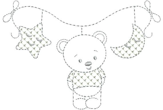 Urso No Varal - Ponto Corrido