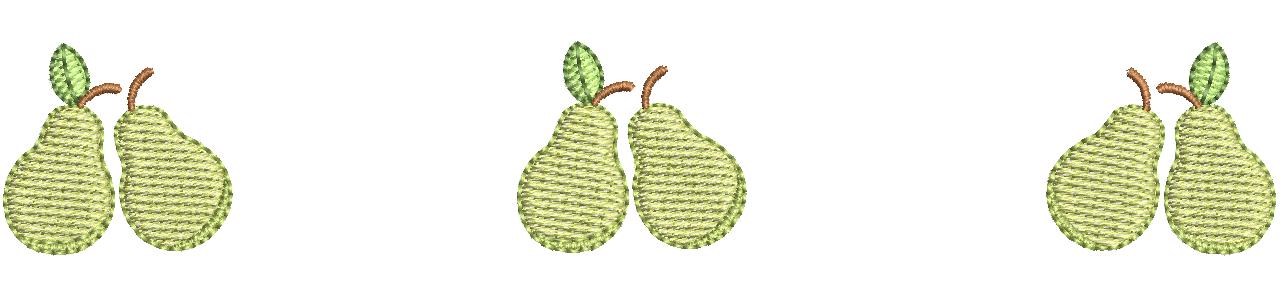 Peras Infantis - Tamanhos Pequenos