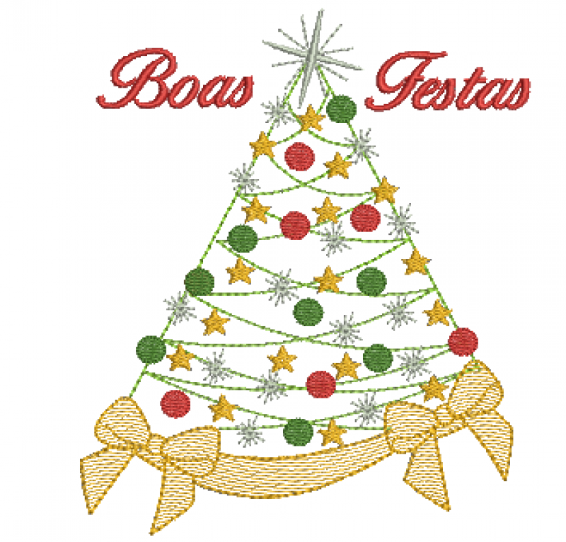 Árvore de Natal - Rippled