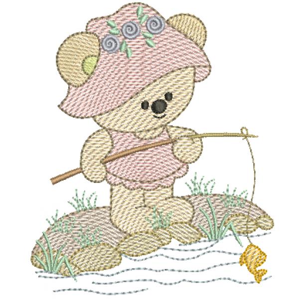 Ursa Pescando - Pontos Leves