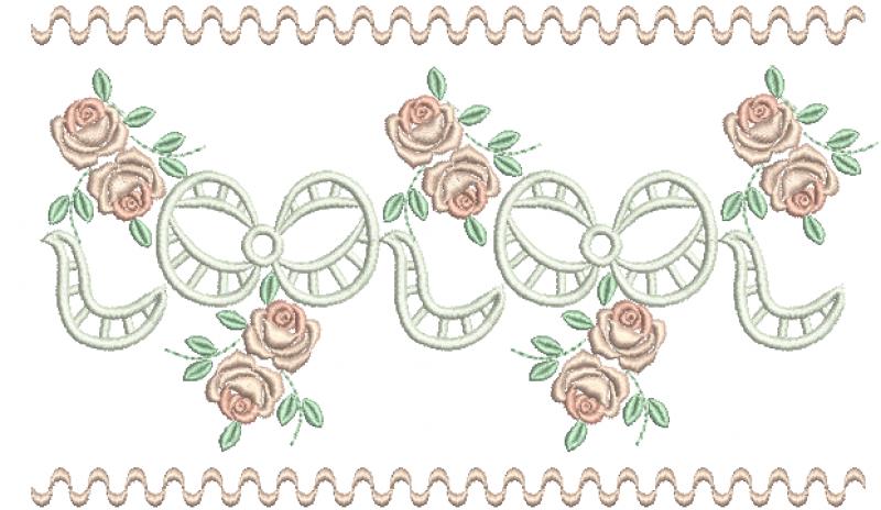 Laços em Richelieu e Rosas