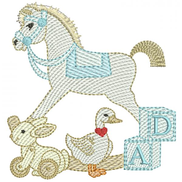 Cavalinho e Brinquedos - Pontos Leves