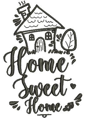 Home Sweet Home - Ponto Cheio