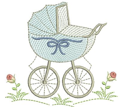 Carrinho de Bebê - Rippled