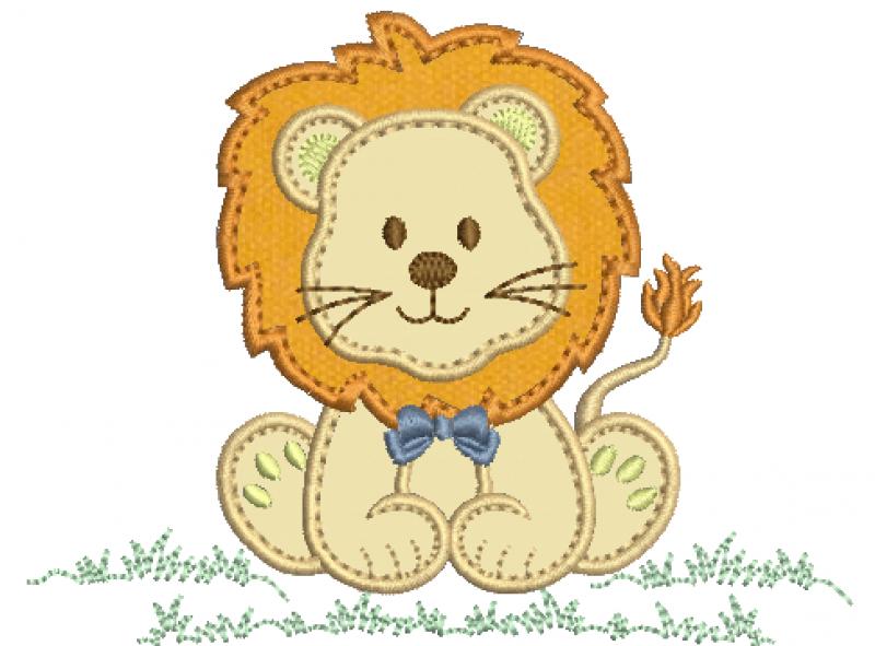 Leão Aplique