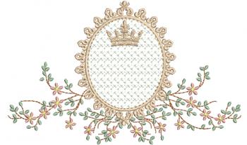 Ramo Delicado com Coroa e Crivo