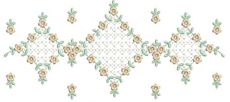 Florzinhas Delicadas com Crivo