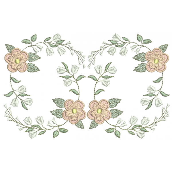 Ramo de Flor 3D