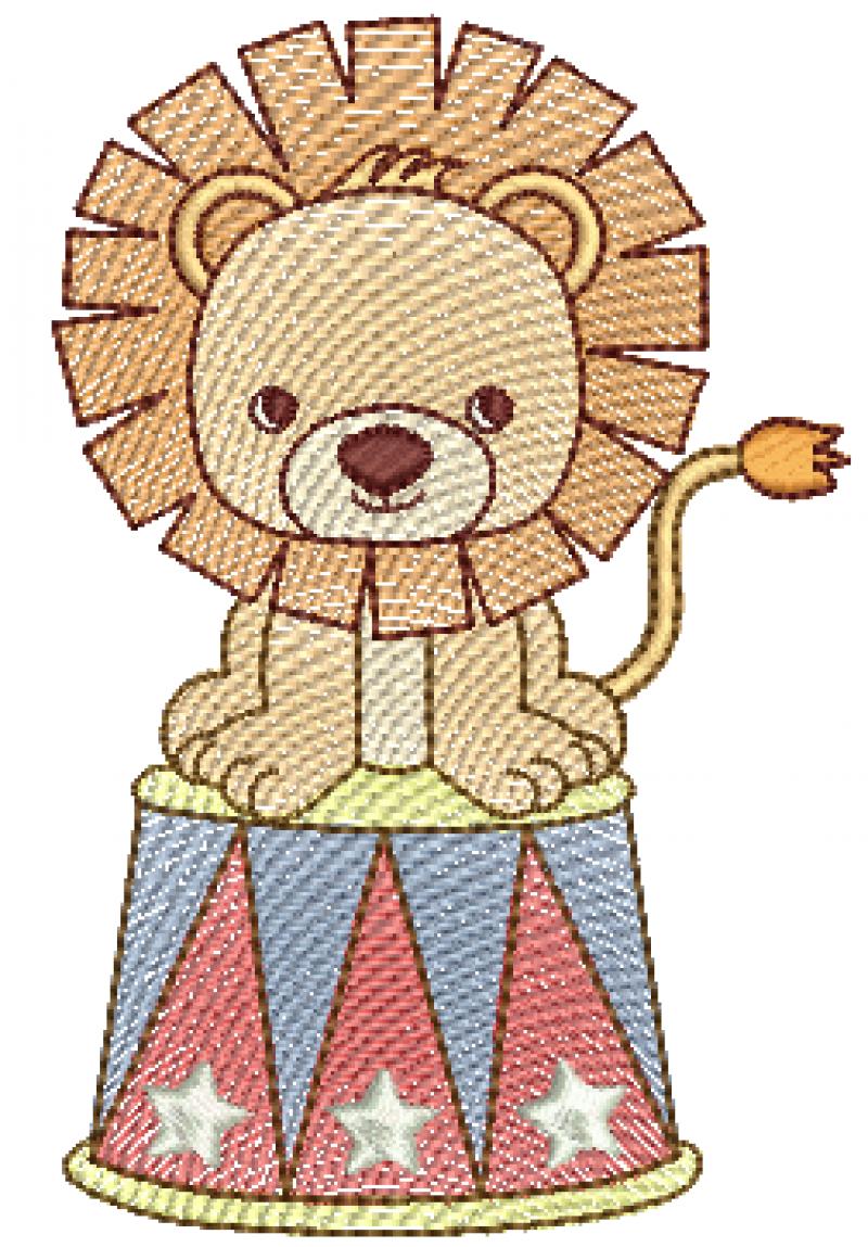 Leão do Circo - Rippled