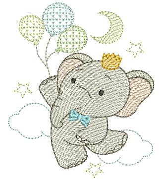 Elefante e Bexigas - Rippled