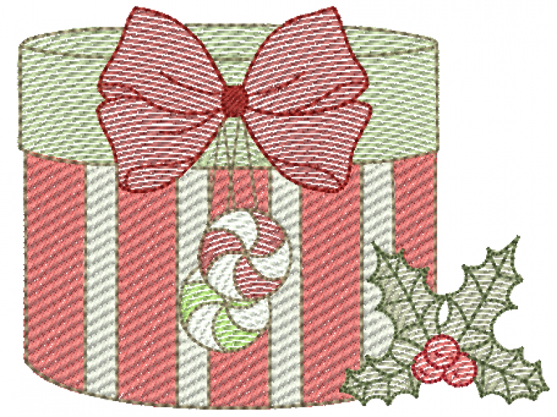 Presente de Natal - Rippled