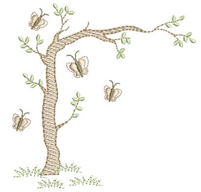 Arvore e Borboletas - Pontos Leves