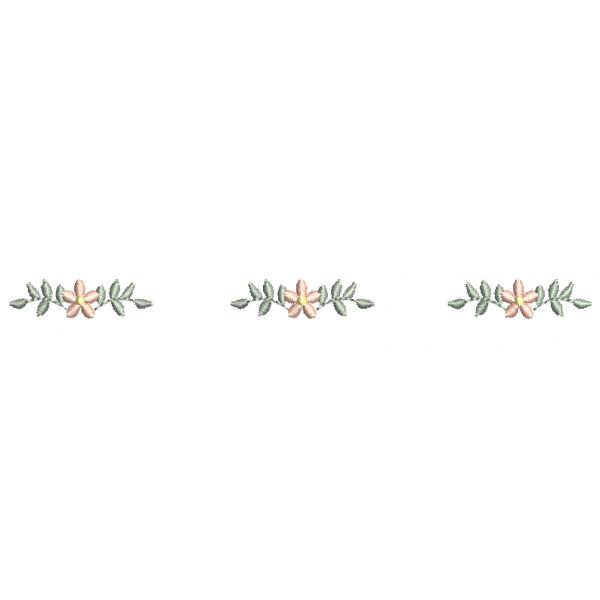 Barrado Caminho de Florzinhas 2 - Ponto Cheio
