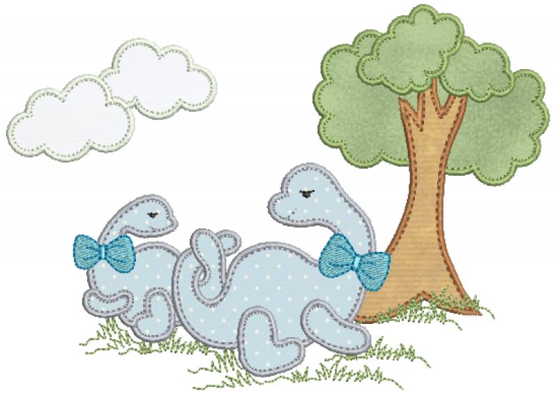 Dinossauros - Aplique