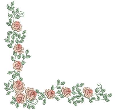 Cantoneira de Rosas – Ponto Cheio