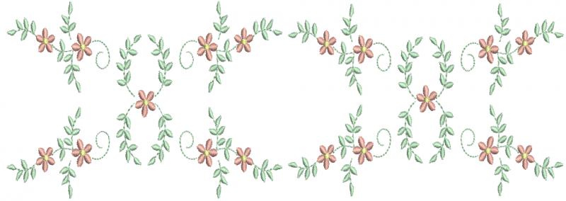 Entremeio de Guirlanda de Flores
