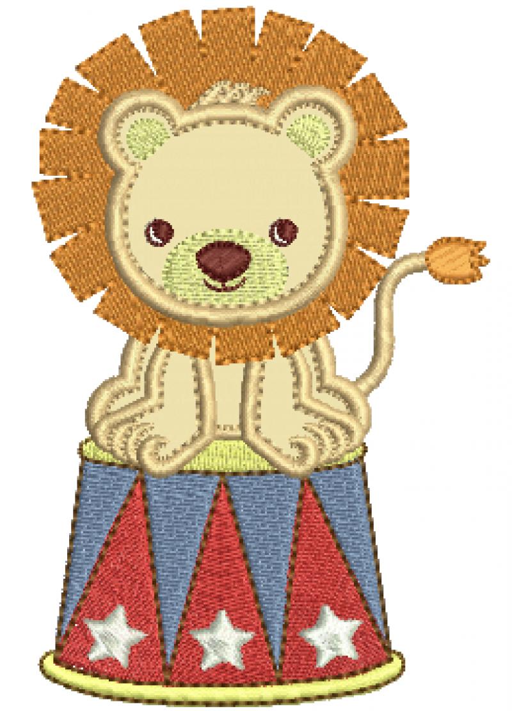 Leão do Circo - Aplique