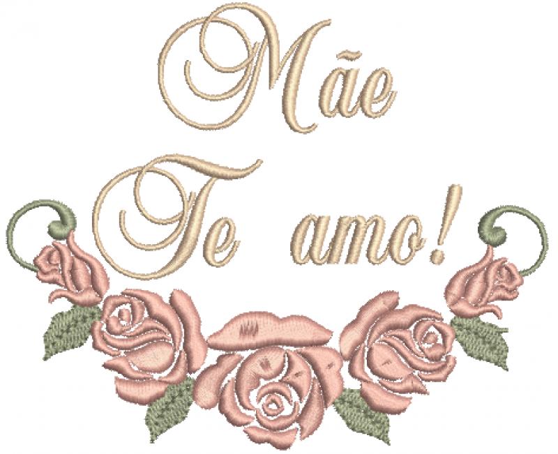 Rosas Mãe  te amo