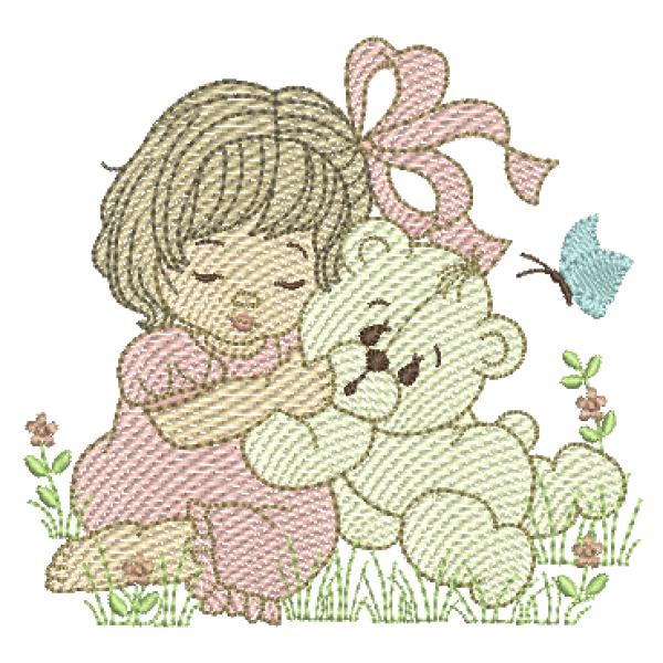 Menina e Urso - Pontos Leves