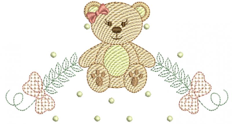 Ursa com Raminhos - Rippled