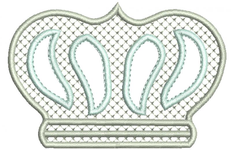 Coroa com Crivo e Aplicação