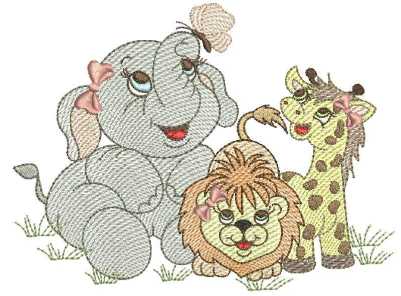 Safari Menina - Rippled